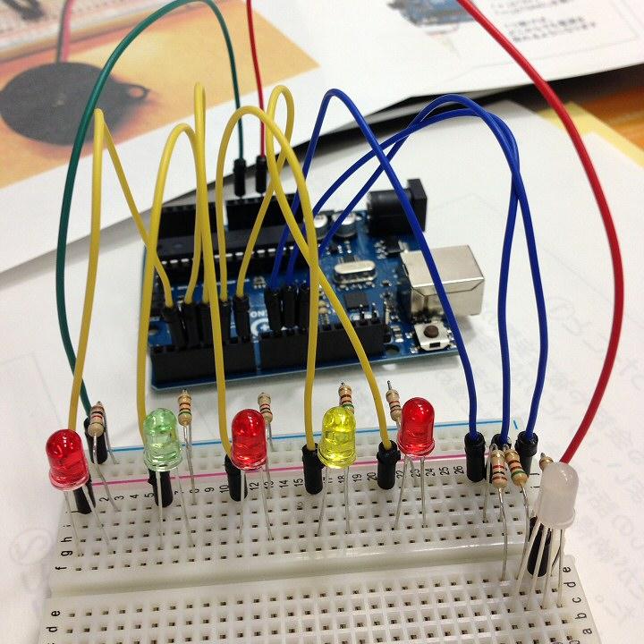 反応速度測定器 フルカラーLED