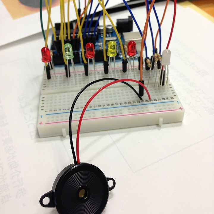 反応速度測定器 ブザー