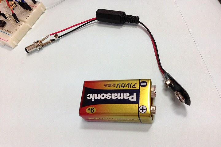 反応速度測定器-電源乾電池化