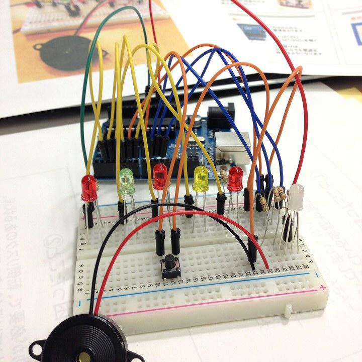 反応速度測定器 プッシュスイッチ
